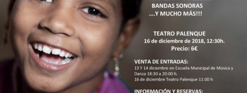 """IV Concierto Solidario """"Gotas para Níger"""", a favor de Unicef"""