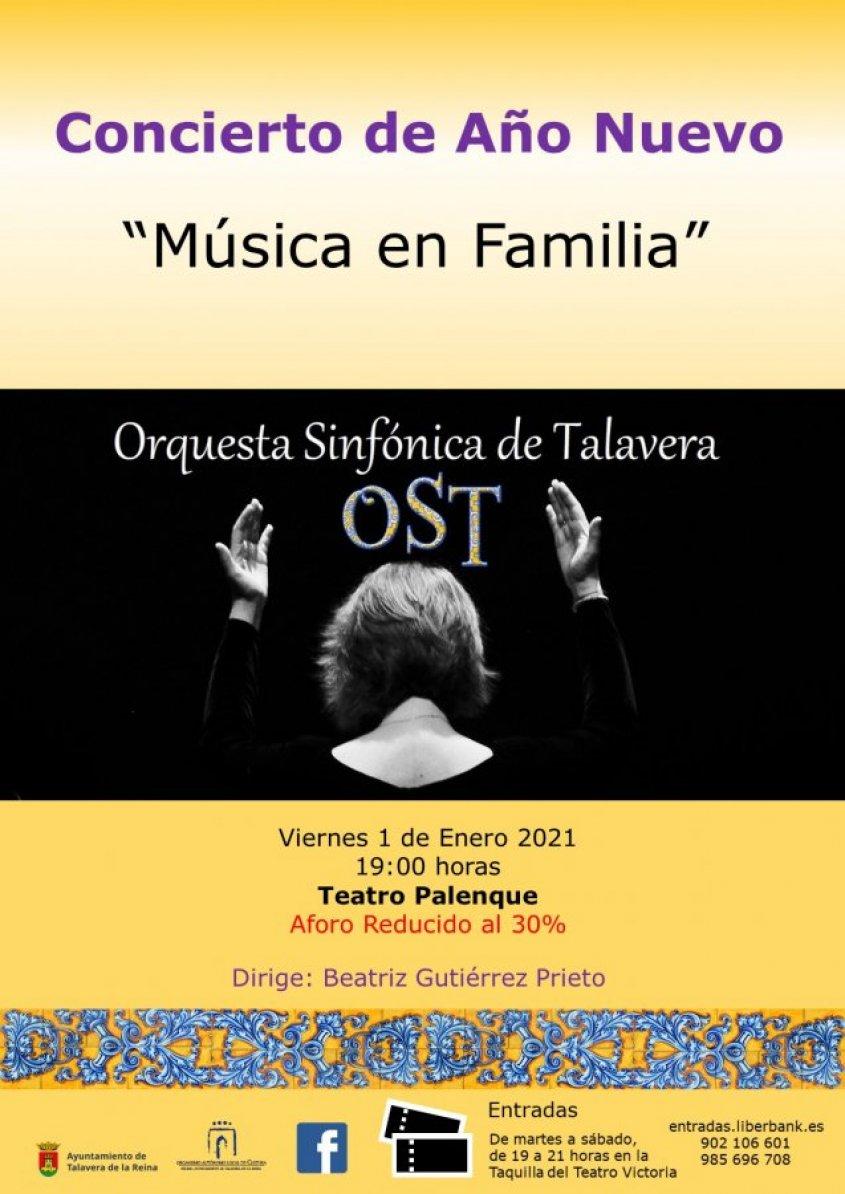 """Concierto de Año Nuevo """"Música en Familia"""""""