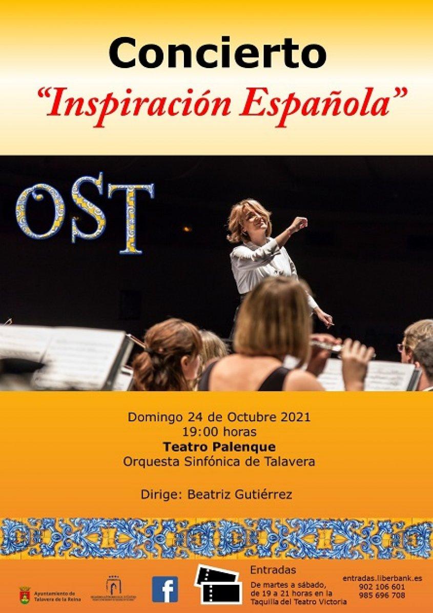 """Concierto """"Inspiración Española"""""""