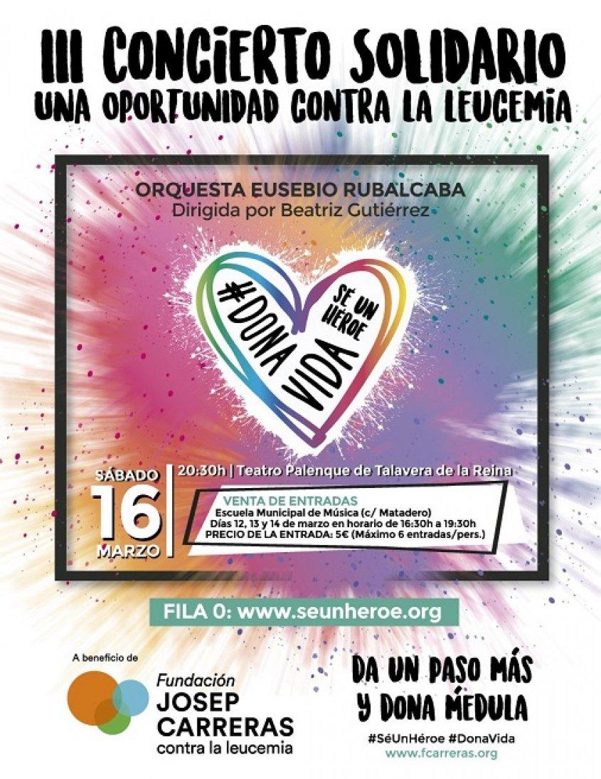 III Concierto Solidario una oportunidad contra la Leucémia