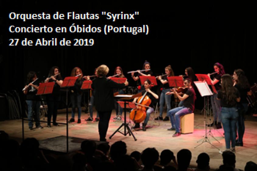 """Concierto Orquesta de Flautas """"Syrinx"""""""